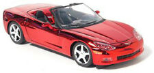GREENLIGHT 11250-05 1:24 2005 CORVETTE C6 CONVERTIBLE CHROME/CHASE DIECAST 1/250