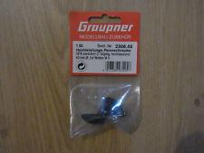 Graupner 2306.40 Hochleistung-Rennschraube 2-flg. 40mm für M5 rechts, Neu & OVP