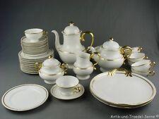 Rosenthal Hildegard antigüedades café-juego de té para 1900 blanco oro decoración 11p 41tlg