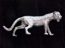 Pure Sterling Silver Mountain Lion .925 Custom Casted Bxstck