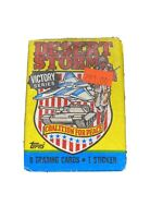 Vintage 1991 Unopened wax pack DESERT STORM Trading card Cards Iraq Iraqi War