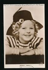 Film Theatre SHIRLEY TEMPLE c1930s RP PPC Fox Films some inking marks