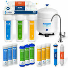 5 Stage Home Drinking Reverse Osmosis System PLUS Extra 7 Express Water Filters photo