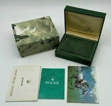 Genuine ROLEX watch box 11.00.01 booklet with instructions #94