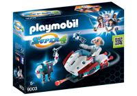 Playmobil 9003 Super 4 Skyjet with Dr. X and Robot Scifi Space