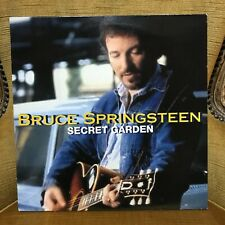 "45 RPM tours 12"" Bruce Springsteen ‎– Secret Garden Label: Columbia ‎– 661295 6"