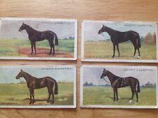 Ogden's Cigarette Cards - Derby Entrants 1928 (4 cards, see details)