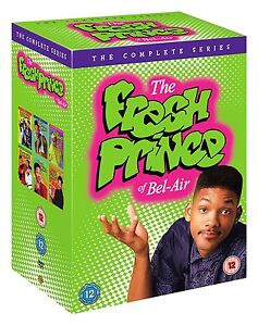 """THE FRESH PRINCE OF BEL-AIR COMPLETE SERIES DVD BOX SET 23 DISC R4 """"NEW&SEALED"""""""