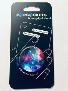 PopSockets Blue Nebula Grip & Stand Phone Holder Brand New Pop Socket Authentic
