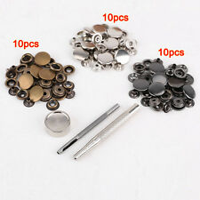 30pcs metal push button 17mm+ tool set for leather goods leather LW