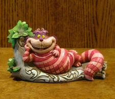 "Jim Shore Disney Showcase #6001274 CHESHIRE CAT in Tree ""The Cat's Meow"" Enesco"