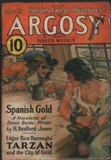 Argosy Weekly 1932 March 19, Tarzan and the City of Gold part two, Burroughs ERB