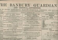 More details for the banbury guardian october 24th 1891 original antique newspaper e2.626