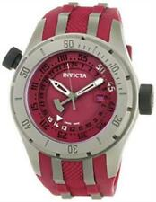 Invicta 0228 Coalition Force Swiss Made GMT Polyurethane Strap Mens Watch