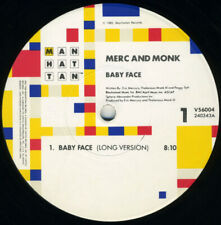 """Merc And Monk - Baby Face / VG+ / 12"""", Single"""