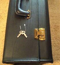Salesman's Sample Case Styled Like A Pilot's Carry On Bag - Vintage 1980s