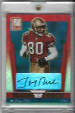 Jerry Rice 2002 Donruss Elite Passing the Torch Auto /100 49ERS