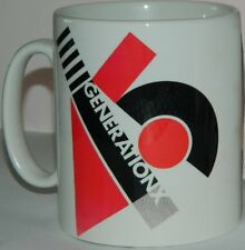 GENERATION X / BILLY IDOL 'YOUR GENERATION MUG'  FEATURES  ORIGINAL 70's ARTWORK