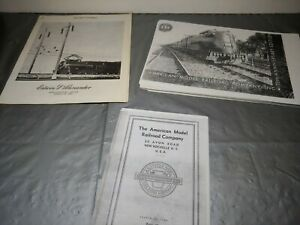 Vintage O Scale Ed Alexander  Catalogs great reference for vintage world 1930's