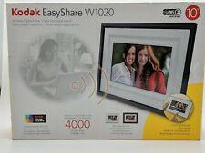 "Kodak EasyShare 10"" Digital Picture Frame W1020 Wi-Fi 400 Pics Music 512 Mb"