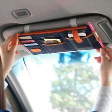 NEW Car Sun Visor Organiser Cards Tickets Storage Bag Pocket Pouch Phone Holder