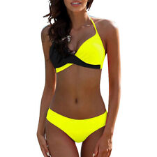 Mujeres Sexy conjunto Bikini Push-up sujetador acolchado Traje De Baño Playa