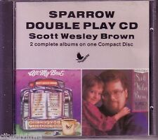 SCOTT WESLEY BROWN All My Best/Language of Jesus is Love 1988 Sparrow 2 On 1 CD