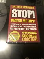 Anthony Morrison - STOP - Watch Me First (DVD) Your financial success  NEW