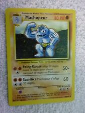Carte pokémon machopeur 34/102 peu commune set de base wizard
