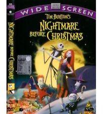 DVD DISNEY Nightmare Before Christmas  Warner rarissimo