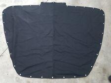 2017 Sea Ray 230 SLX Black Sunbrella Snap Canvas Cover