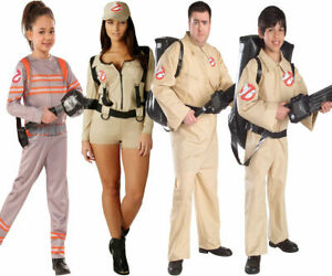 Adults Kids Ghostbuster Costume Ghostbusters Fancy Dress Outfit Backpack New