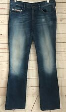 Diesel Womens Bootzee Jeans Slim-Bootcut Size 30 x 32 Stonewashed