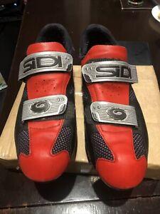 SiDi Cycling Shoes + SPD Cleats Size 45 / Uk 10.5