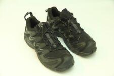 Salomon Men's XA Pro 3D Black/Grey Trail Running Shoes 7.5M