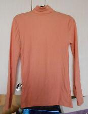 Sous-pull  femme, taille 3 marque DROPNYL HELANCA couleur orange rose polyamide