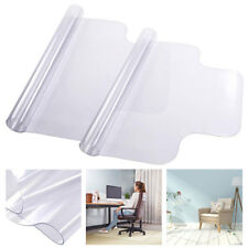 "2pcs 48"" x 36"" PVC Floor Mat Protector w/ Lip for Hard Wood Floors Office Chairs"