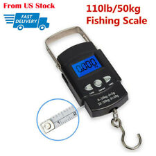 Lcd Electronic Fishing Scale Portable Digital Luggage Weight Hanging Hook Scale