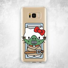 Cannibal Hello Kitty Kawaii Case For Samsung Note 8 9 10 S7 S8 S9 S10 Plus S10e