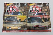 Lot of 2 Hot Wheels Japan Historics 3 Datsun Sunny Truck & Nissan Skyline Jh3