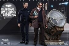 Figure Hot Toys The Dark Knight Rises John Blake Jim Gordon W/Bat-Signal JP