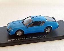 Renault Alpine A310 V6 azul, ELIGOR 1:43