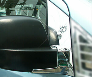 Front Chrome Side Mirror Bracket Cover Molding 2p For 07 12 Hyundai i800 : iMax