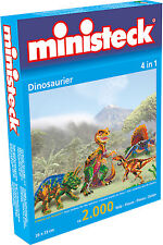 Ministeck Pixel Puzzle (31799): Dinosaurs (4in1) 2000 pieces