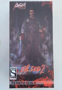 """Evil Dead 2 - Ash Williams Sideshow Exclusive 1/6 Sixth Scale 12"""" inches Figure"""
