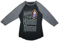 Disney Adult Gray T-Shirt - Welcome to The Haunted Mansion M