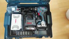 Bosch Professional GSR 18-2-Li Plus Akkuschrauber + 2x Akku 18V