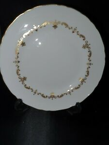 ROYAL WORCESTER GOLD CHANTILLY SIDE PLATE