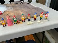 Snow White and the Seven 7 Dwarfs Vintage Cake Topper Decoration Set LR