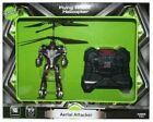 Flying Robot Helicopter Aerial Attacker Remote Control Easy To Fly Indoor 14+
